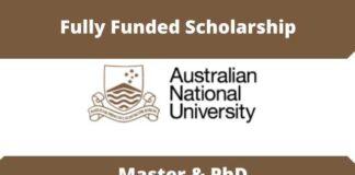 ANU International Research Scholarships