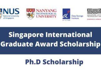 Singapore International Graduate Award Scholarship
