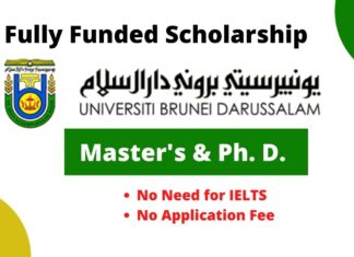 Scholarship at University of Brunei Darussalam
