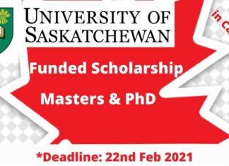 University of Saskatchewan Graduate Scholarships in Canada