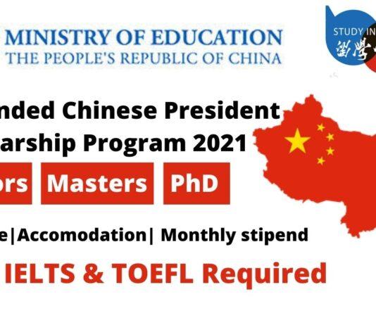 Chinese President Scholarship ProgramChinese President Scholarship Program