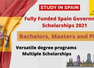 Fully Funded Spain Government Scholarships
