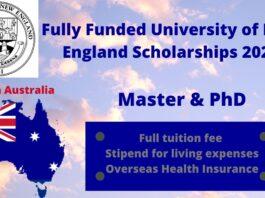University of New England scholarships